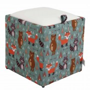 Taburet Box - Print - Animale indiene