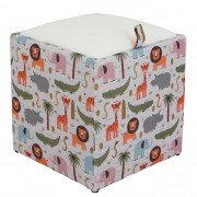 Taburet Box - Print - Animale safari
