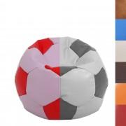 Bean bag Mondo Ball - imitatie piele - divese culori