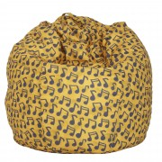 Bean bag Mara Print Note muzicale