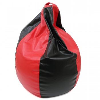 Bean bag Mara - imitatie piele - bicolor