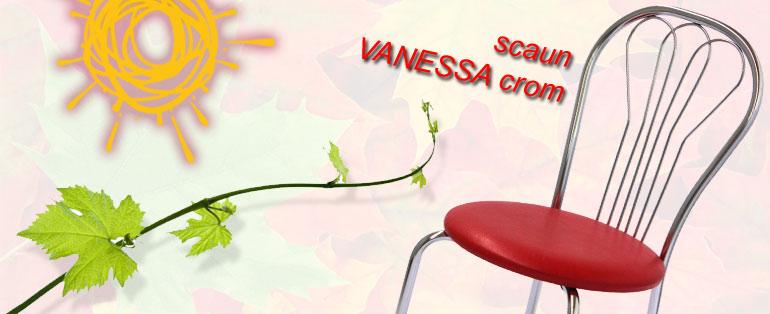scaun Vanessa cromat