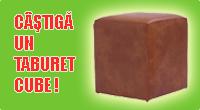 castiga un taburet Cube