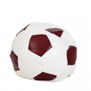 Bean bag Extra Ball (XL) - imitatie piele - alb/diverse culori