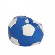 Bean bag Mondo Ball - imitatie piele - albastru/diverse culori