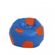 Bean bag Extra Ball (XL) - imitatie piele - albastru/diverse culori