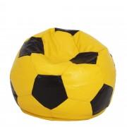 Bean bag Baby Ball - imitatie piele - galben/diverse culori