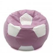 Bean bag Mondo Ball - imitatie piele - mov/diverse culori