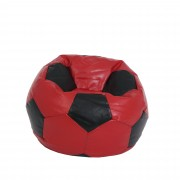 Bean bag Baby Ball - imitatie piele - rosu/diverse culori