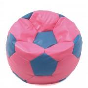 Bean bag Baby Ball - imitatie piele - roz/diverse culori