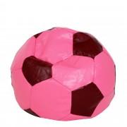 Bean bag Mondo Ball - imitatie piele - roz/diverse culori