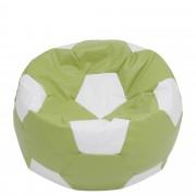 Bean bag Baby Ball - imitatie piele - verde/diverse culori