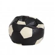 Bean bag Mondo Ball - imitatie piele - wenge/diverse culori