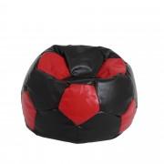 Bean bag Extra Ball (XL) - imitatie piele - wenge/diverse culori
