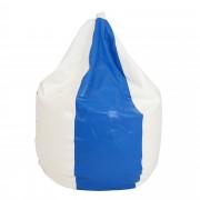 Bean bag Mara imitatie piele - alb/diverse culori