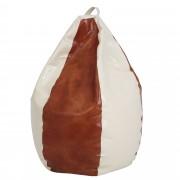 Bean bag Mara imitatie piele - cognac/diverse culori