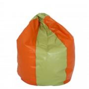Bean bag Mara imitatie piele - verde/diverse culori