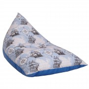 Bean bag Relax - Corabii fond bleu