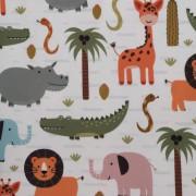 Stofa Print - Animale safari