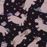 Stofa Print - Unicorni